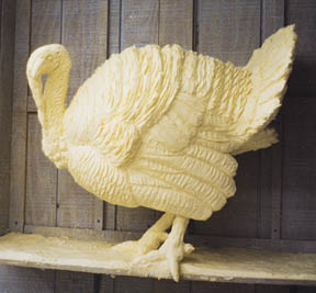 Turkey Butter Sculpture